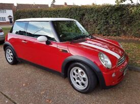 LOVELY RED NOVEMBER 2006 MINI COOPER FOR SALE