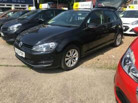 VOLKSWAGEN GOLF 1.6 SE TDI BLUEMOTION TECHNOLOGY 5d 103 BHP Apply for finance Online today! 2013