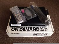 Sky hd box with built in wi fi----INC PIN--MINT CONDITION