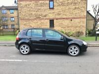 2005 VW Golf 1.9 TDI, 5 Doors, Black, Alloys, MOT, FSH