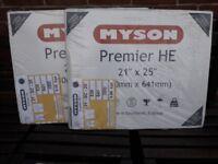 2 x MYSON Premier HE Radiators