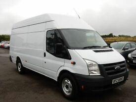 2010 Ford transit jumbo 115bhp t350 motd march 2019 1 owner from new