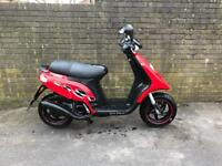 Gilera storm 50cc scooter 2008 with mot moped