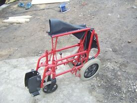fold up adult wheel chair