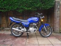 sanya sy125 125cc 125 cc , fully serviced, 12 months mot