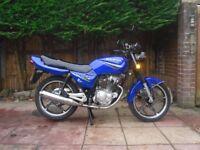 sanya sy125 125cc 125 cc , fully serviced, 12 months mot