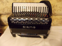 120 BASS SISME ITALIAN REED ACCORDION