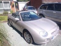 MG MGF 1.8 2000 | 2 seater convertible