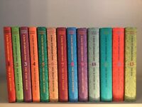 A Series of Unfortunate Events by Lemony Snicket (Hardback Full 13 Book Collection) good as new