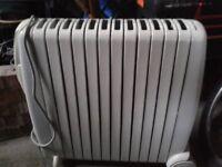 De Longhi Rapido Oil Filled Radiator