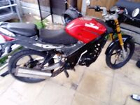 skyjet 125 project streetfighter cbr wannabe