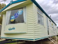 Cheap Modern 3 bed static caravan 2017 & 2018 site fees AT Seawick clacton essex suffolk kent
