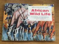 1961 African wildlife tea card album