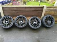 17inch black alloys