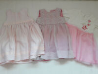 Baby girl clothes bundle 3-6 months and 6-9 months, over 200 pcs