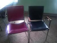 Looking for older style steel frame chairs