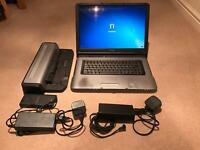 "Sony Vaio A197VP Laptop. 17"" Screen. 80gb. Intel Pentium M. Docking Station and Case"