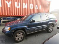 2001 Jeep Grand Cherokee 4.0 V6 LPG 4WD