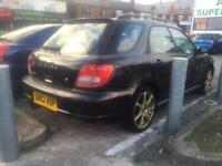 Subaru Impreza 2.0 GX AWD estate - 2002 - MOT - no logbook - not sport turbo evo sti wrx