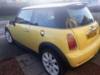 2003 Mini Cooper S (Rare Yellow Example)