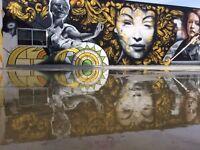 Street Artist, Mural Artist, Graffiti Artist and Airbrush Artist for hire, no job too big or small
