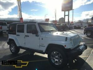 2015 Jeep Wrangler Sahara | Freedom Top | Under 100000 KM