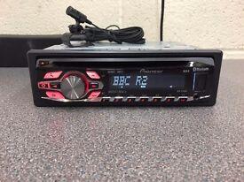 Pioneer Bluetooth Car Audio DEH-4400BT