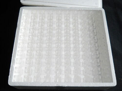 (100) Kartell 1.5mL (10mm) Disposable PS Semi-Micro Cuvettes, 1948