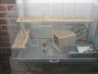 CHINCHILA OR RAT CAGE £25