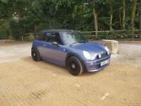 Mini One 1.6 Convertible 2004 Blue