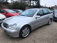 Mercedes C270 CDI Automatic Estate 2003 - Sold with a New MOT & 3 Months Warranty