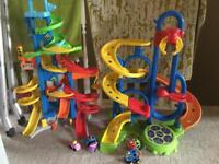 Fisher price and go ball spin whizz mountain toy bundle