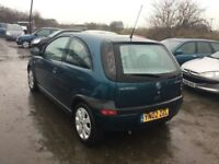 02 VAUXHALL CORSA SXI IN SUPERB CONDITION FULL SERVICE HISTORY JUST HAD A SERVICE MOT ALLOYS CD PX?