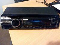 Sony Bluetooth, Aux & Cd Car Stereo Unit
