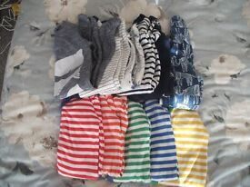 Boys baby grows from Next - up to one month or 10Ibs