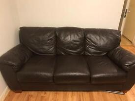 Leather suite 3 + 2 seater
