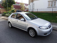Daewoo Lacetti 1.6 SX 5dr,AUTOMATIC, FG54ZYN,74260 miles,mot octomber 2018