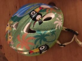 Children's bicycle helmet, small, aged 1-2