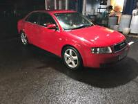 Audi A4 1,9tdi one year mot sale or swap for small car