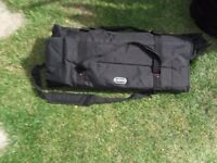 drum kit hardware bag kinsman rolls up in very good condition