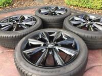 "Genuine 17"" BMW Mini Cooper S Conical spoke JCW Refurbished Alloy wheel & Runflat tyres"