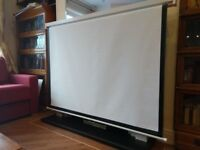 72 inch projector screen
