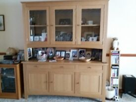 Light Oak Dresser / Bookcase sold by Mark Elliot Ltd