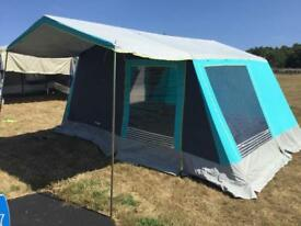 Trigano canvas frame tent