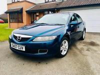 Mazda 6 TS ~ MOT ~ V5 ~ 2 Keys ~ FSH