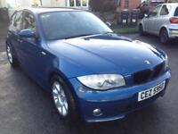 BMW 1 SERIES 78K CLOCK VERY GOOD CONDITION