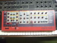 Nord Rack 2 synthesizer fully working with ram card expansion and latest 1.06 operating firmware