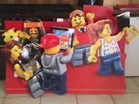 HUGE Lego Shop Display Cardboard