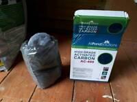 7 x 400g carbon cartridges for fish tank