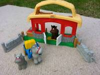 Small Stable and Horses